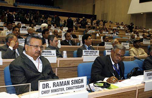Chattishgarh Chief Minister Raman Singh