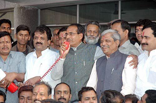 MP: BJP celebrates win