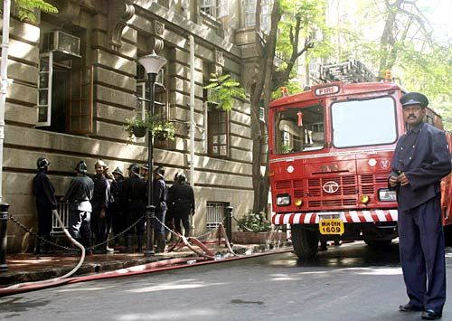 Bombay House fire