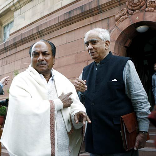 A. K. Antony and Jashwant Singh