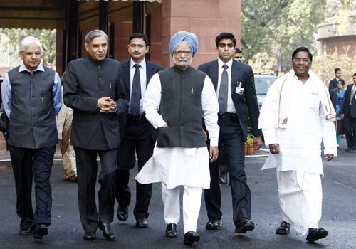 Inaugural day of the Budget Session of Parliament