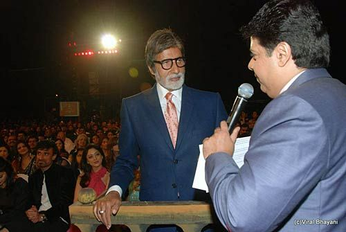 Sajid Khan and Amitabh Bachchan