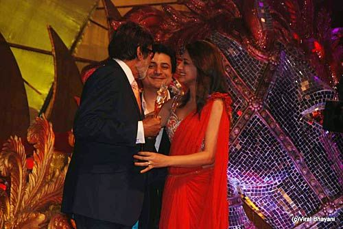 Big B and Sonali Bendre Behl