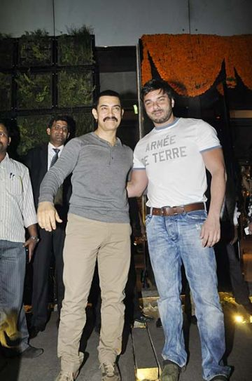Aamir Khan and Sohail Khan