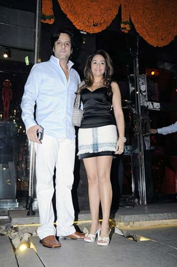 Fardeen Khan and Natasha