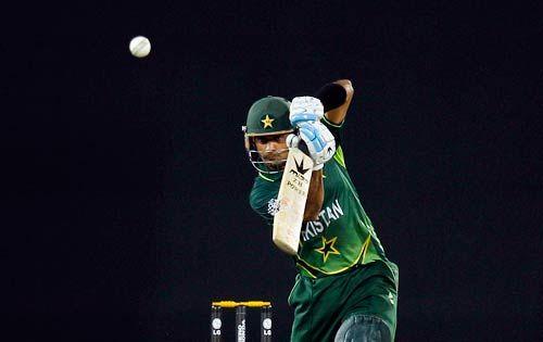 Pakistan's Mohammad Hafeez