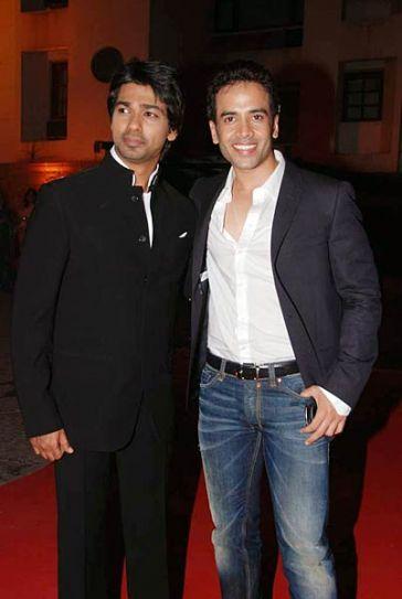 Tusshar Kapoor and Nikhil Dwivedi