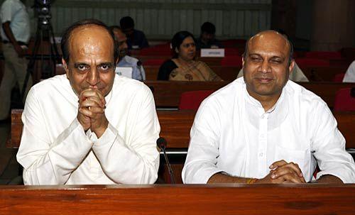 Dinesh Trivedi and M M Palam Raju