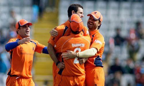 The Netherlands bowler Ryan ten Doeschate