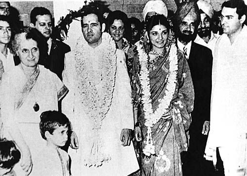 Sanjay Gandhi and Maneka