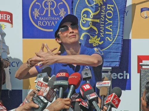 Rajasthan Royals co-owner Shilpa Shetty
