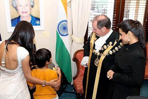 Malaika Arora Khan, Arhaan, Vidya, Mayor