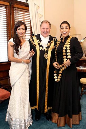 Malaika Arora Khan, Vidya Balan, Mayor of Melbourne,