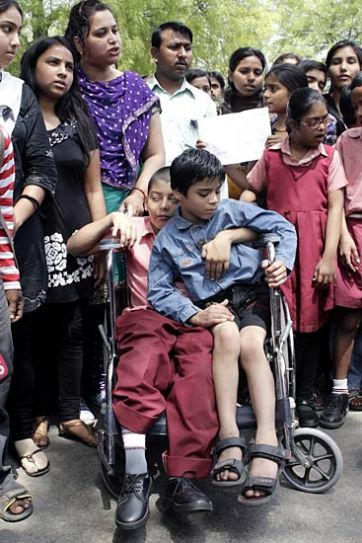 Differently-abled children