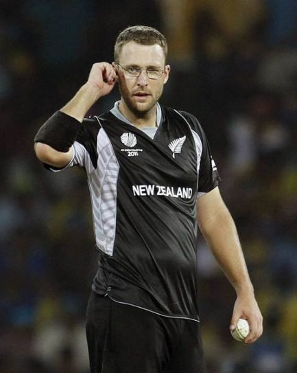 Team Bangalore captain Daniel Vettori
