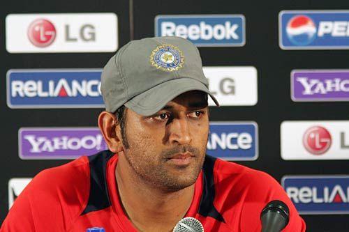India skipper Mahendra Singh Dhoni
