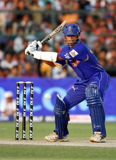 Rajasthan batsman Rahul Dravid