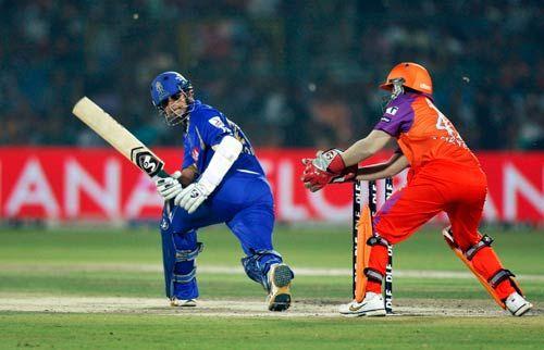 Rajasthan opener Rahul Dravid