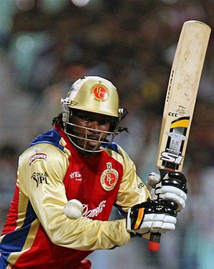 Bangalore batsman Chris Gayle
