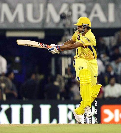Chennai batsman Suresh Raina