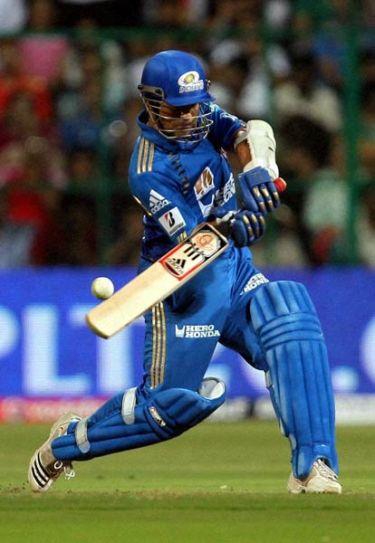 Mumbai Indians captain Sachin Tendulkar