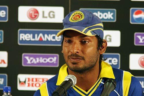 Sri Lanka captain Kumar Sangakkara