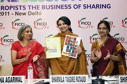 Sharmila Tagore Pataudi, Ranjana Agarwal,