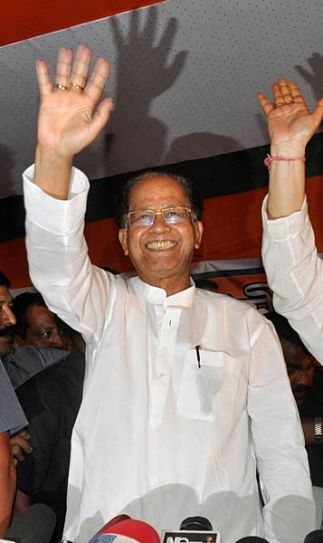 The Tarun Gogoi-led Congress wins Assam polls.