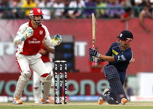 Hyderabad batsman Jean-Paul Duminy