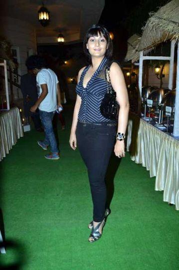 Urvashi Dholakia at Ekta Kapoor's bash.