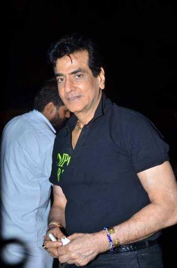 Jeetendra at Ekta Kapoor's bash.
