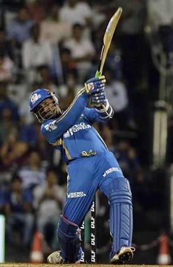 Mumbai batsman Harbhajan Singh