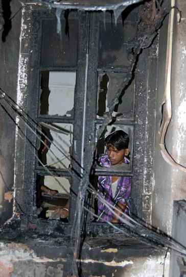 Fire breaks out in Raj secretariat building