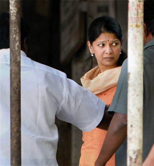 Kanimozhi in Tihar jail
