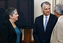 US Department of Homeland Security secretary Janet Napolitano