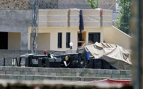 Al Qaeda leader Osama bin Laden's hideout in Abbottabad