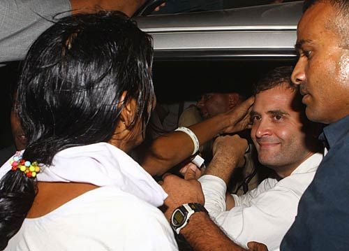Rahul Gandhi after his arrest