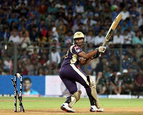 Kolkata batsman Shakib Al Hasan