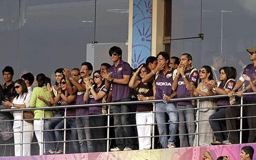 Kolkata team owner Shah Rukh Khan