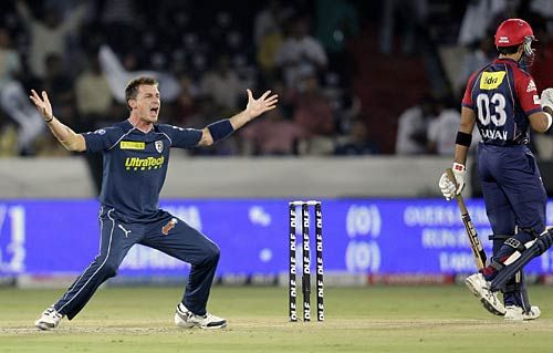 Hyderabad speedster Dale Steyn