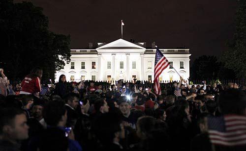 Americans celebrate Osama's death