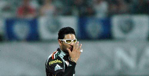 Pune skipper Yuvraj Singh