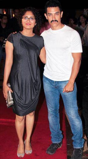 Aamir Khan, Kiran Rao,