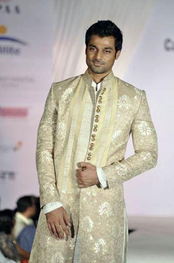 Angad Bedi at Pidilite-CPAA charity fashion show