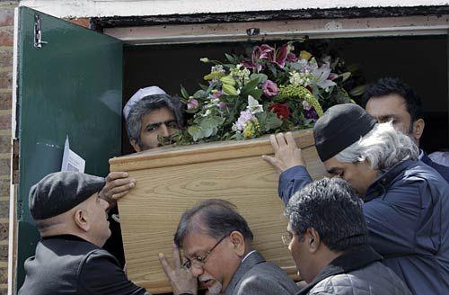 MF Husain's last rites