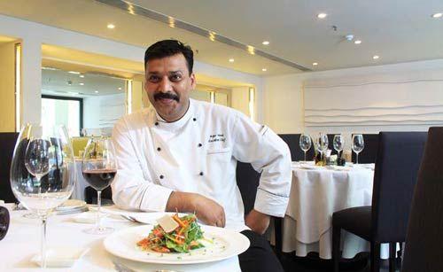 Chef Rajiv Vimal at Italia.