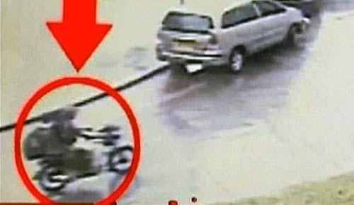 CCTV footage of the killing