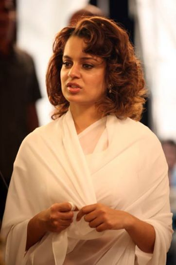Kangna Ranaut in a still from Double Dhamaal