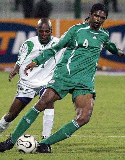 Nigerian star Nwankwo Kanu
