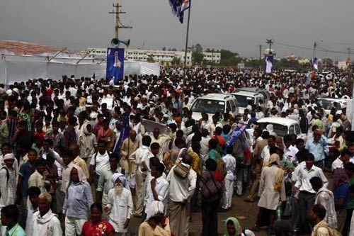 Mayawati supporters